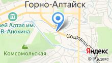 Барнаульская сервисная компания на карте