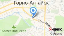 Горно-Алтайкоммунпроект на карте