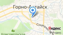 Главное бюро медико-социальной экспертизы по Республике Алтай на карте