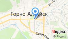 Управление Федеральной почтовой связи Республики Алтай на карте