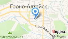 Комитет по физической культуре и спорту Республики Алтай на карте
