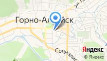 Управление Министерства юстиции РФ по Республике Алтай на карте