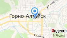 Правительство Республики Алтай на карте