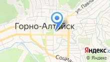Министерство имущественных отношений Республики Алтай на карте