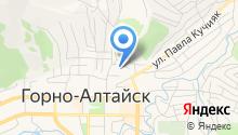 Горно-Строй на карте