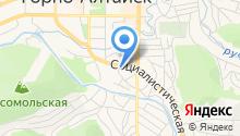 Территориальное Управление Федерального агентства по управлению государственным имуществом в Республике Алтай на карте