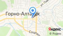 Горно-Алтайская городская поликлиника на карте