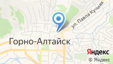 Управление социальной поддержки населения г. Горно-Алтайска на карте