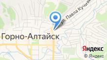 Горно-Алтайский государственный университет на карте