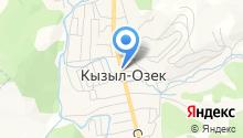 ТюрХан на карте