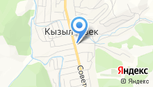 Кызыл-Озёкская сельская врачебная амбулатория на карте