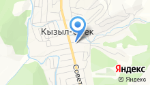 Администрация Кызыл-Озёкского сельского поселения на карте