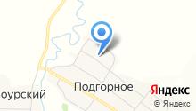 Подгорновская средняя общеобразовательная школа на карте