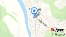 Ивановский на карте