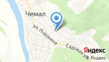Чемальская районная станция по борьбе с болезнями животных на карте