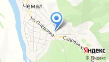 Прокуратура Чемальского района на карте