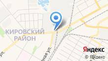 Жилищный трест Кировского района на карте