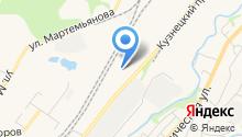 Автокомплекс на Кузнецком проспекте на карте