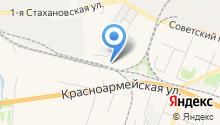 Олга на карте