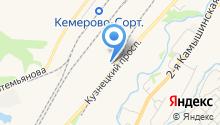 Автор-М на карте