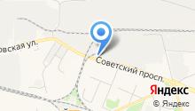 АвтоВышка на карте