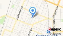 Агентство по защите населения и территории Кемеровской области на карте