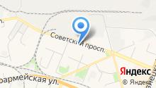 LazerPrint на карте