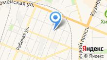 Специализированная пожарно-спасательная часть ФПС по Кемеровской области на карте