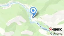 Синий плёс на карте