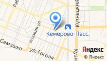Служба автоэвакуации на карте