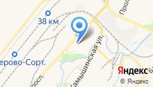 Автородео на карте