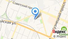 Администрация Кемеровского муниципального района на карте
