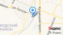 Автотехцентр кузовного ремонта на карте