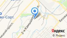 Компания по изготовлению и установке автостекол на карте