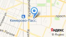 Управление социальной защиты населения Администрации Кемеровского муниципального района на карте