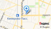 Академия Путешествий на карте