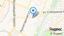 Автосервис на Федоровского на карте