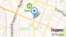 Авиакасса на карте