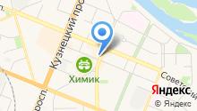 Minishop на карте