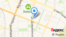 Модесса на карте