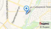 Авто-люкс на карте