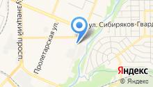 Александ на карте