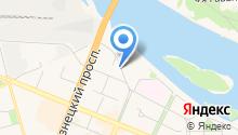 КемВод на карте