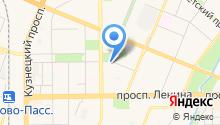 6 соток Сибири на карте
