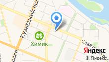 Триплекс сервис на карте