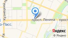 КемТекс на карте