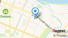Управление по делам ГО и ЧС г. Кемерово на карте