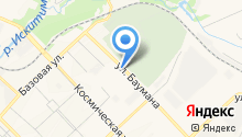Estima на карте