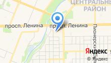 Платежный терминал, Русфинанс Банк, Кемеровский филиал на карте