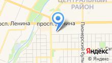Единая служба такси г. Кемерово на карте